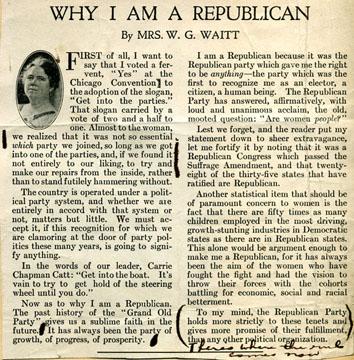i am a republican